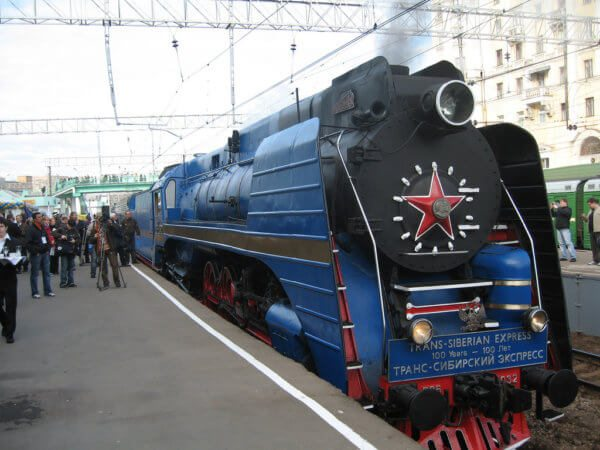 Trans-siberian express engine