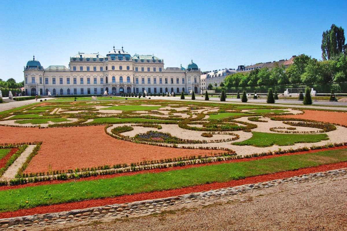 Belvedere Palace Gardens, Vienna