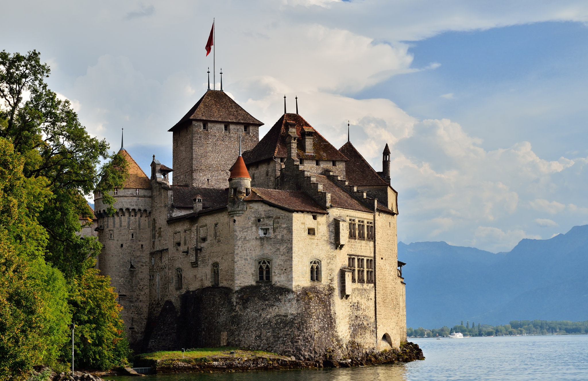 Chateau de Chillion Montreux