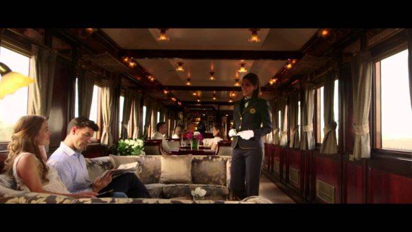 El Transcantábrico Train Interior