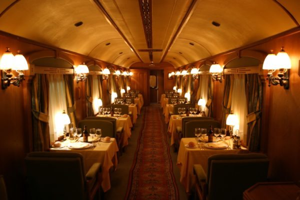 Transcantábrico train interior