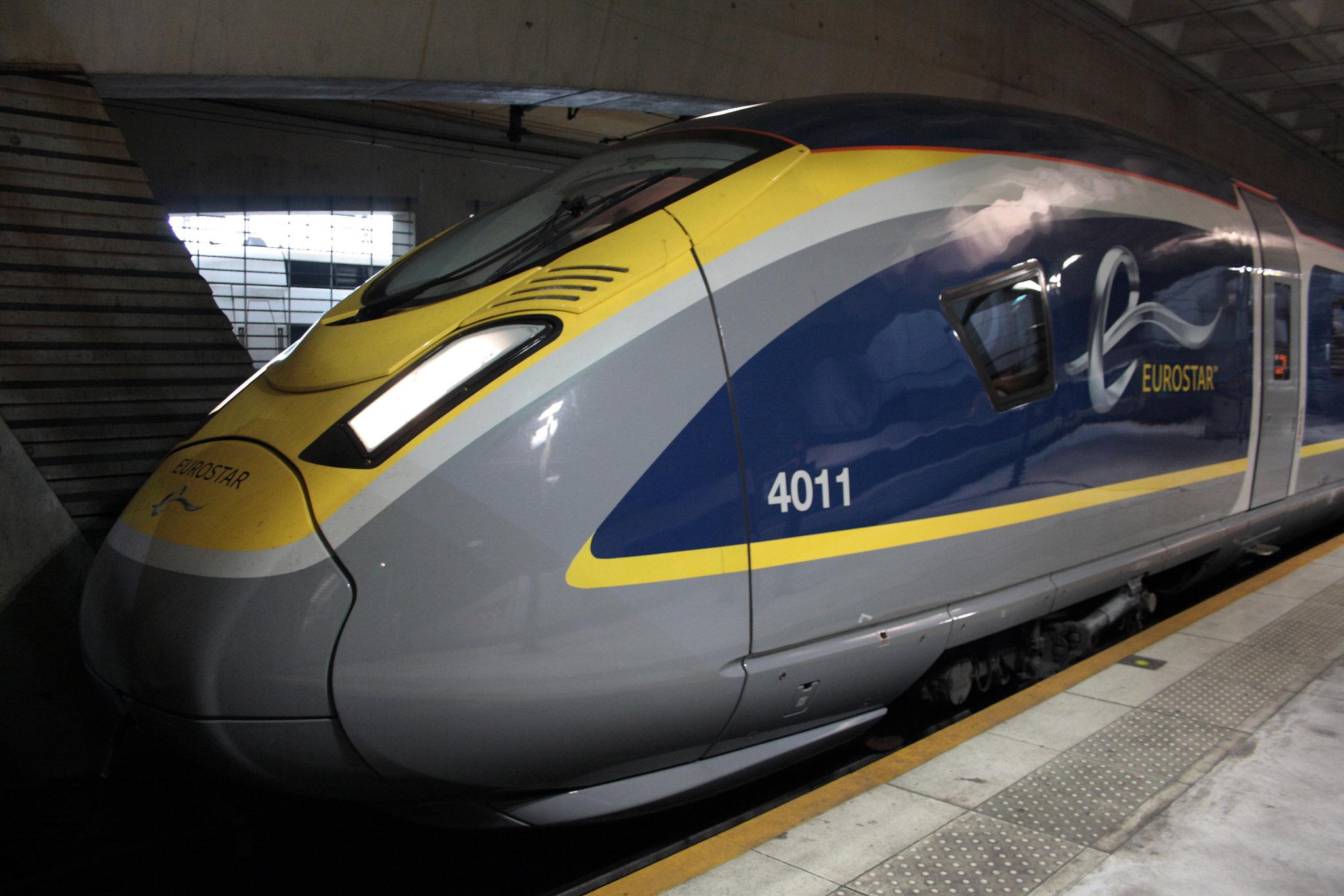Eurotunnel Train Meeting Orient Express
