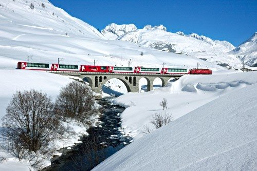 Glacier Express 2016 in Winter