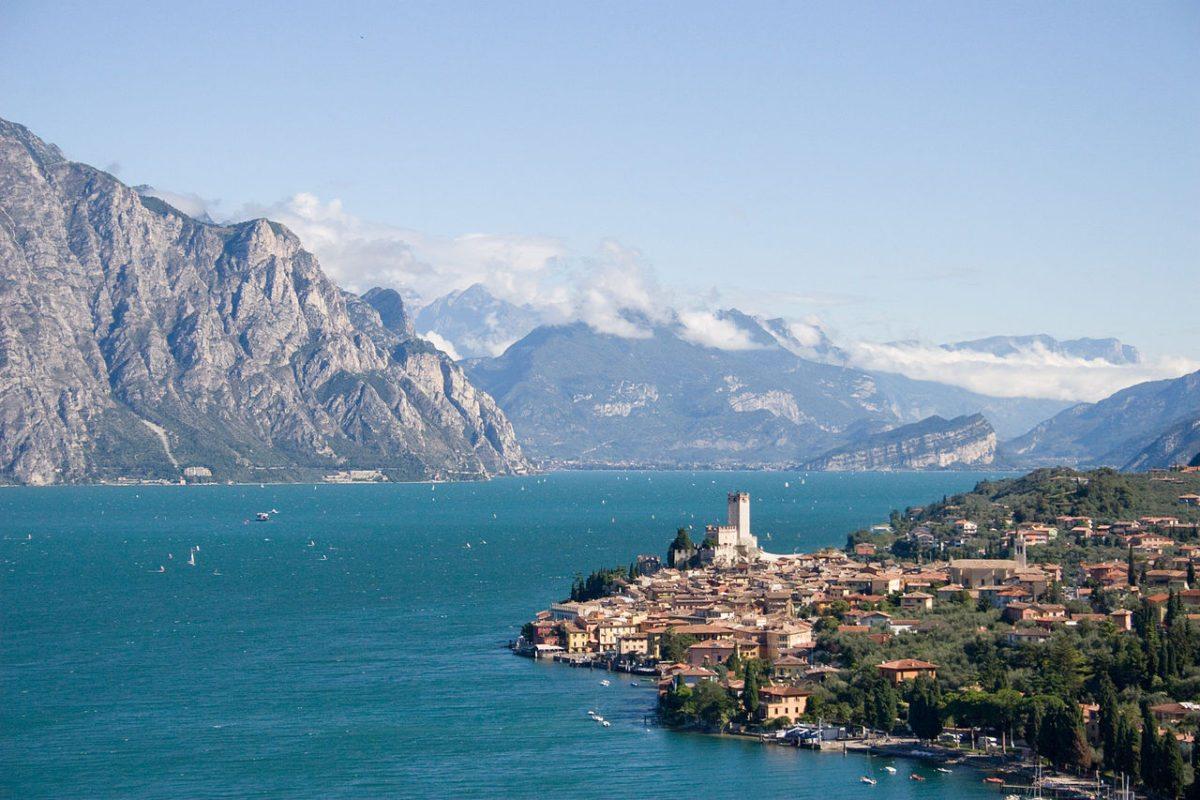 Malcesine Old Town Lake Garda