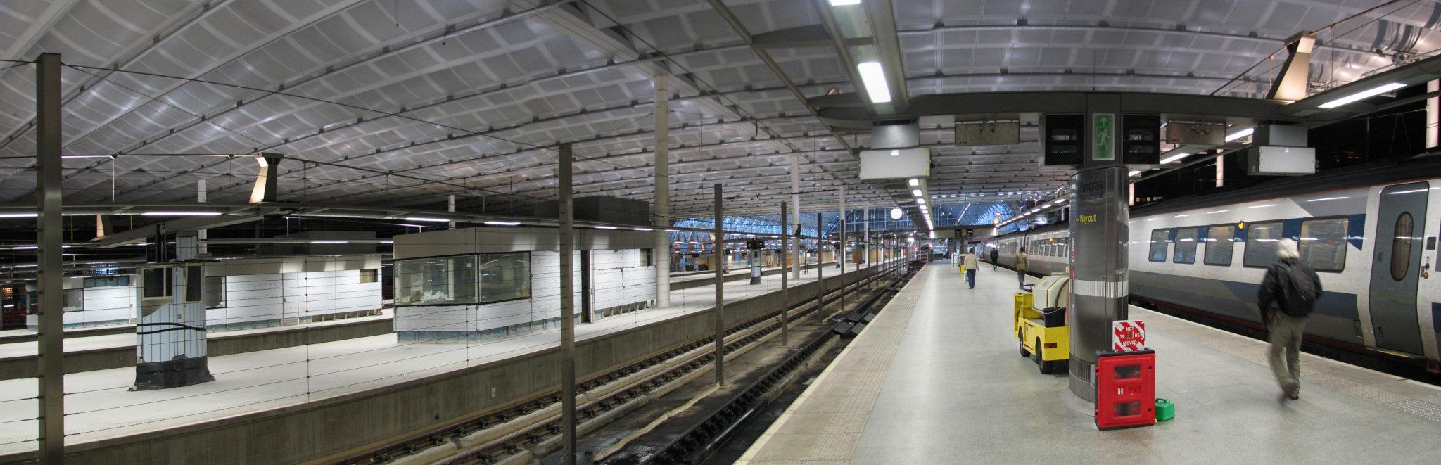 St Pancras Internation Station