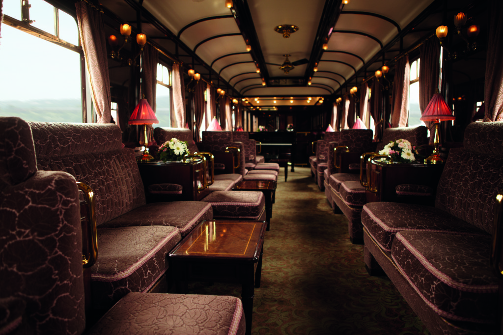 Orient Express Bar Interior