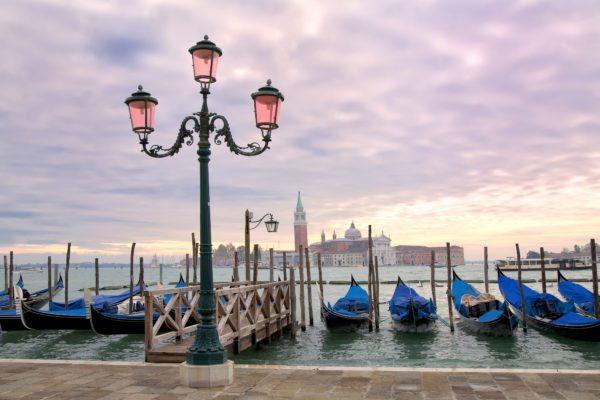 Orient Express Venice Sunset