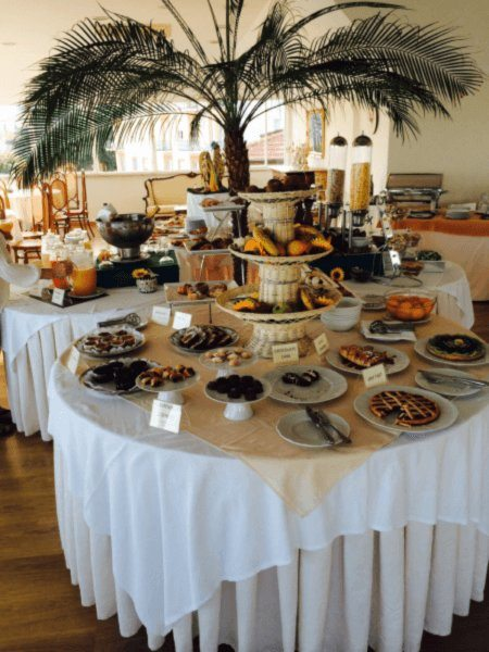 Food breakfast rail holiday