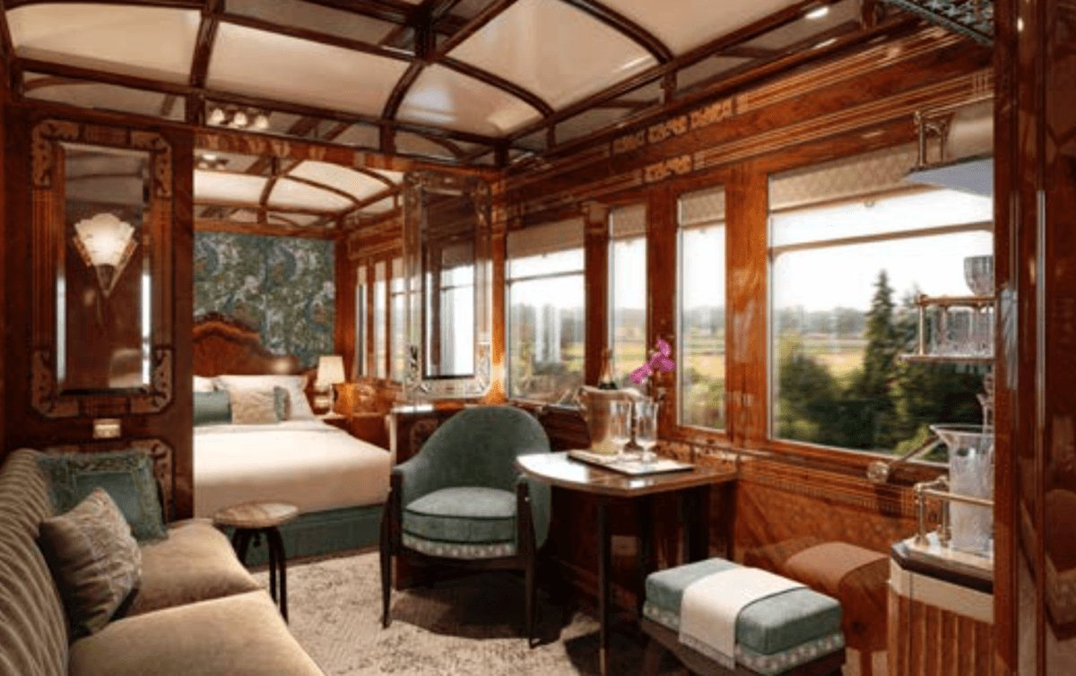 Venice Simplon Orient Express Grand Suites New For 2018