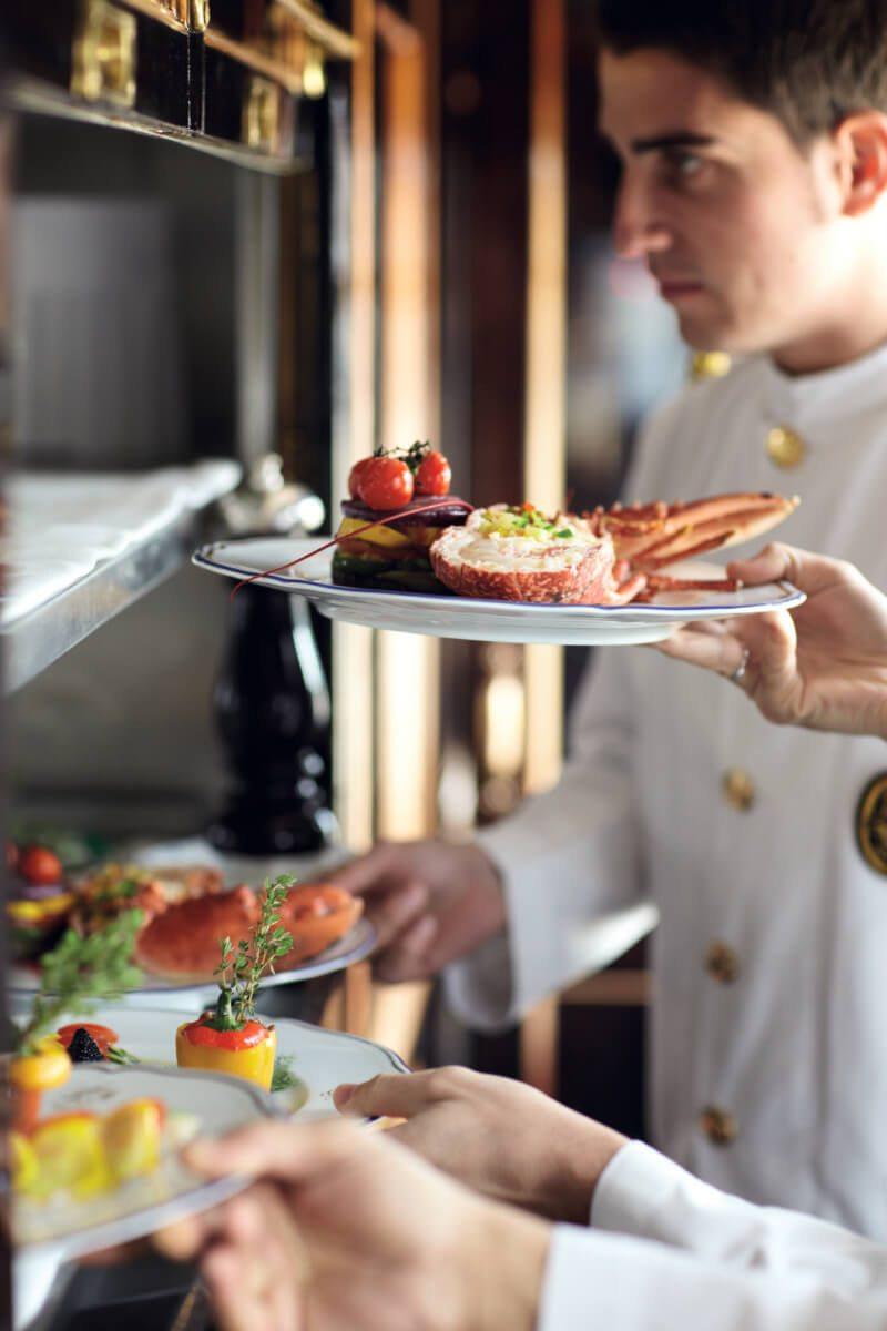 Orient Express Cost - Luxury Restaurant Food