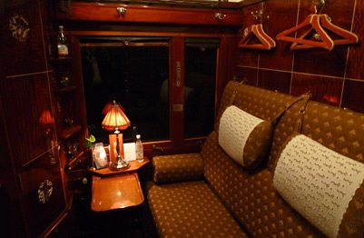 Venice Simplon Orient Express Cabin