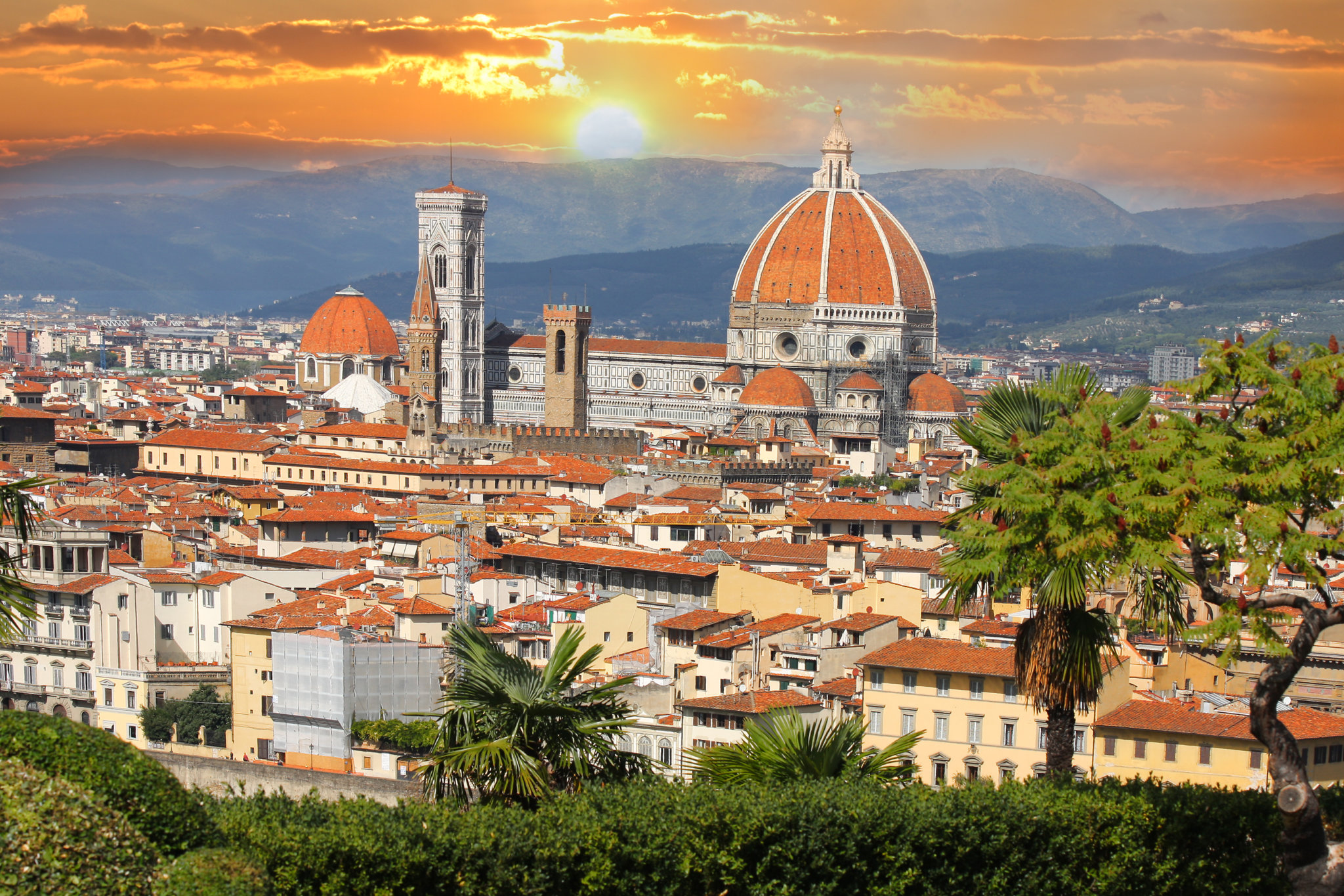 Italian Florence: Florence By First Class Rail